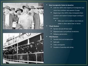 Immigration-Urbanization Bundle