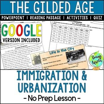 Immigration, Urbanization, The Gilded Age
