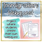 Immigration WebQuest Project