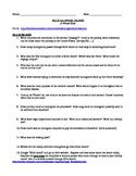 Immigration Webquest