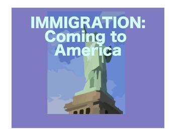 Immigration and America:  Beringia to 1790:  A SmartBoard