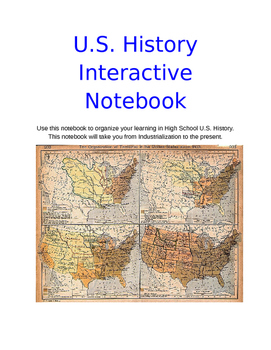 Immigration and Changing Population -U.S. History - Digital Interactive Notebook