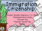 Immigration and Citizenship - Second Grade Core Knowledge Bundle