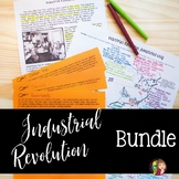 INDUSTRIAL REVOLUTION and IMMIGRATION Activities Bundle
