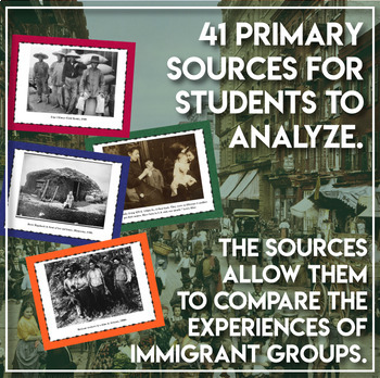 Immigration and Settlement Stations 1880s - 1920 U.S. History