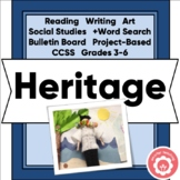 Heritage Molly's Pilgrim Clothespin Project CCSS 3-6 Print
