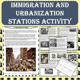 Immigration and Urbanization Stations Activity (Print and