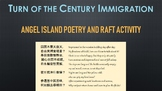Immigration at the Turn of the Century - Angel Island Poet