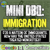 Immigration in America: How has a nation of immigrants treated minorities? DBQ!