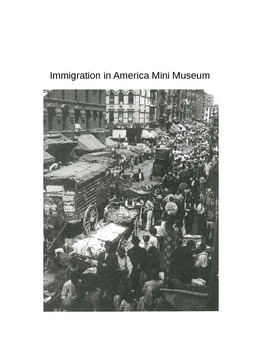 Immigration in America Mini Museum