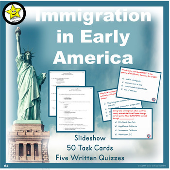 Immigration in Early America Review and Test Prep
