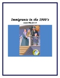 Immigration in the 1900's Lesson Plan