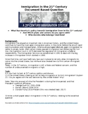 Immigration in the 21st Century- in the United States- Document Based Question