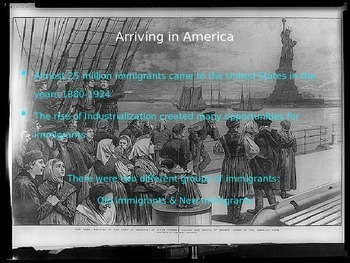 Immigration into US