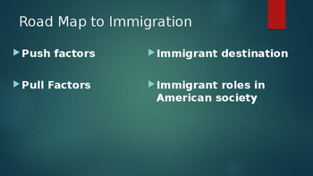 Immigration to America