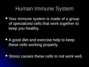 Immune Response PowerPoint and Play