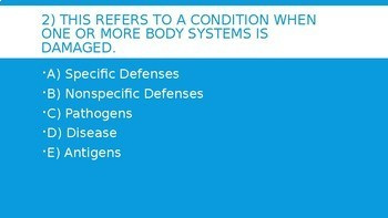 Immune System 4 Corners Review