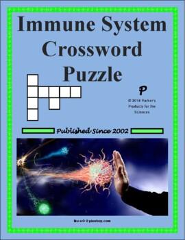Immune System Crossword Puzzle