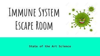 Immune System Escape Room
