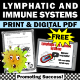FREE Immune System & Lymphatic System Activity, Human Body Systems Grade 5