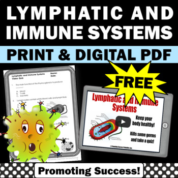 FREE Download Immune System Lymphatic System for Human Bod