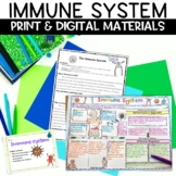 Immune System Nonfiction Article and Sketch Note Activity