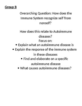 Immune System Project