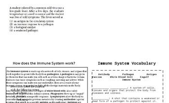 "Immune System Student ""book"""
