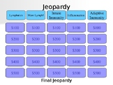 Immune System and Lymphatics Anatomy Jeopardy Game Review