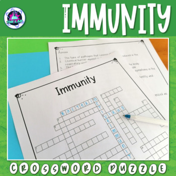 Immunity Crossword Puzzle