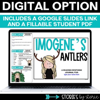 Imogene's Antlers (Book Questions, Vocabulary, & Antler Photo Craft)