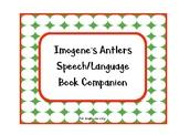 Imogene's Antlers Speech/Language Book Companion