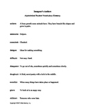 Imogene's Antlers Vocabulary