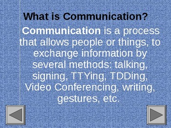 Impact Hearing Loss and/or Deafness has on Communication PowerPoint