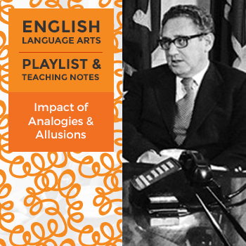 Impact of Analogies and Allusions - Playlist and Teaching Notes