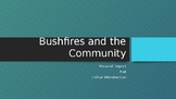 Impact of Bush fires on the Community