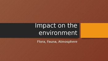 Impact of Bush fires on the Environment