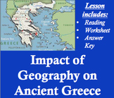 Impact of Geography on Ancient Greece Worksheet