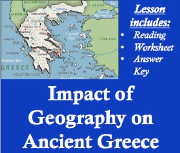 Impact of geography on ancient greece worksheet by living history impact of geography on ancient greece worksheet gumiabroncs Images