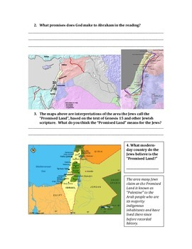Ancient Hebrews/Israelites and Judaism in the Middle East Lesson Plan