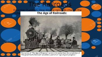 Impact of Railroads