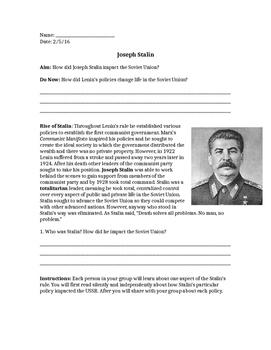 Impact of Stalin