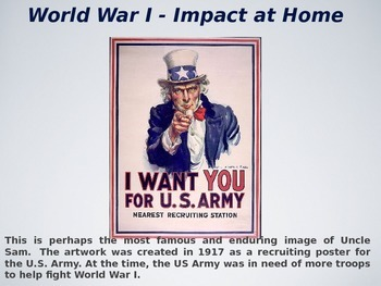 Impact of United States in World War I