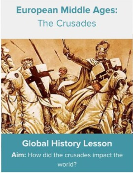 crusades dbq The dbq includes three sections - a quote from pope urban ii granting immediate salvation to all who join a crusade, a speech from saladin urging his forces to take back jerusalem, and a map that shows the various crusades that took place.