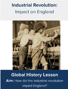Impact of the Industrial Revolution DBQ