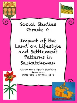 Impact of the Land on the Lifestyle and Settlement Patterns in Saskatchewan