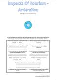 Impacts Of Toiurism - Antartica
