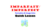 Imparfait (Imperfect) Formation and Usage Intro: French Qu