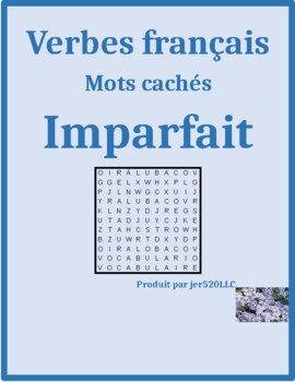 Imparfait (Imperfect tense in French) word search