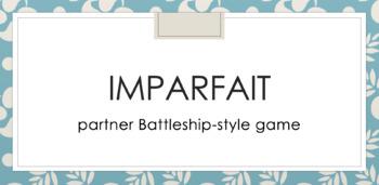 Imparfait : partner Battleship-style game